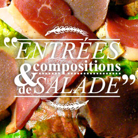 entrees salades m